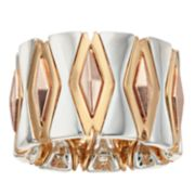 Jennifer Lopez Tri-Tone Stretch Ring