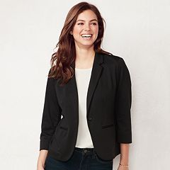Petite LC Lauren Conrad Fitted Blazer