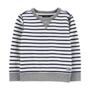 Toddler Boy OshKosh B'gosh® Striped French Terry Top