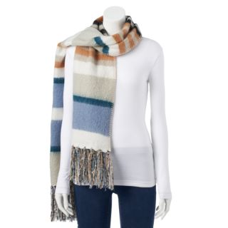 Women's SONOMA Goods for Life? Striped Boucle Oblong Scarf