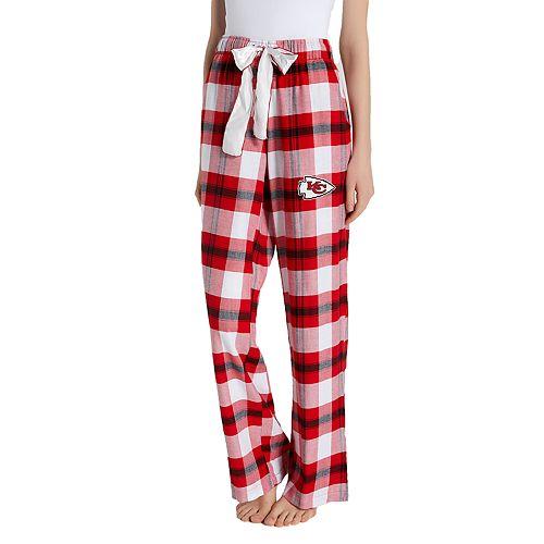 154bbb45 Women's Headway Kansas City Chiefs Flannel Pajama Pants