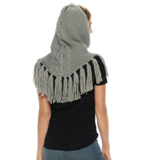 Women's SONOMA Goods for Life? Cable-Knit Tasseled Snood