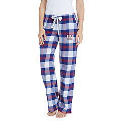 Women's Headway New York Giants Flannel Pajama Pants
