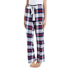 Women's Headway New EnglandPatriots Flannel Pajama Pants