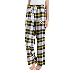 Women's Headway Pittsburgh Steelers Flannel Pajama Pants