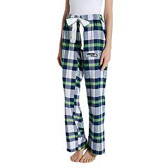 Women's Headway Seattle Seahawks Flannel Pajama Pants