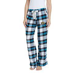 Women's Headway Jacksonville Jaguars Flannel Pajama Pants