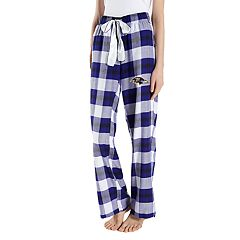 Women's Headway Baltimore Ravens Flannel Pajama Pants