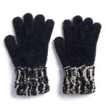 Women's SONOMA Goods for Life? Cable-Knit Chenille Cuff Mittens