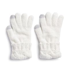 Women's SONOMA Goods for Life™ Cable-Knit Chenille Cuff Mittens