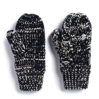 Women's SONOMA Goods for Life? Cable-Knit Chenille-Lined Mittens