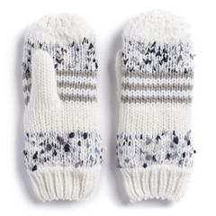 Women's SONOMA Goods for Life™ Deconstructed Knit Mittens