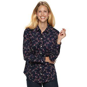 d854da8c64e310 Petite Croft   Barrow® Easy Care Button Down Shirt