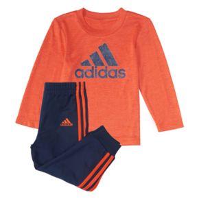 Baby Boy adidas 2-pc. Logo Graphic Tee & Jogger Pants Set