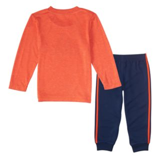 Baby Boy adidas 2-pc. Logo Graphic Tee & Jogger Pants Set