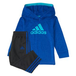 Baby Boy adidas 2-pc. Hooded Pullover Top & Pants Set
