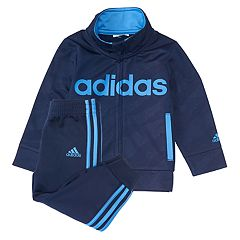 Baby Boy adidas 2-pc. Moto Camo Tricot Zip Jacket & Pants Set