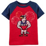 Toddler Boy OshKosh B'gosh® USA Eagle Raglan Tee