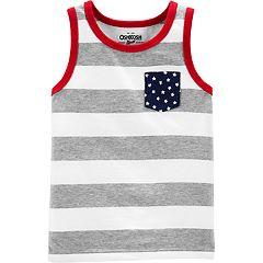 Toddler Boy OshKosh B'gosh® Stars & Stripes Tank Top