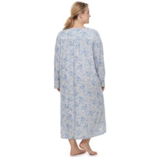 Plus Size Croft & Barrow® Long Pintuck Nightgown