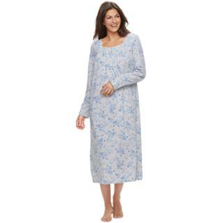 Petite Croft & Barrow® Long Pintuck Nightgown