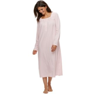 Petite Croft & Barrow® Long Pintuck Nightgown