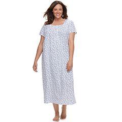 Plus Size Croft & Barrow® Pintuck Nightgown