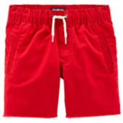 Toddler Boy OshKosh B'gosh® Raw Hem Pull On Shorts