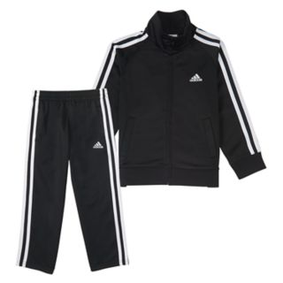 Toddler Boy adidas Tricot Zip Track Jacket & Pants Set