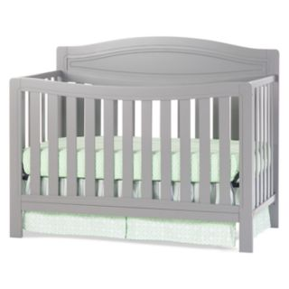 Child Craft Dresden 4-in-1 Convertible Crib - Cool Gray