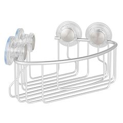 Interdesign Metro Aluminum Turn-N-Lock Corner Basket