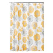 Interdesign Large Poppy Shower Curtain