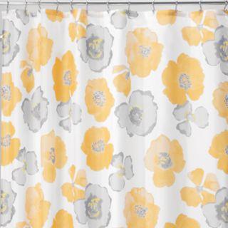 Interdesign Large Poppy Shower Curtain