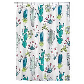 Interdesign Cactus Shower Curtain