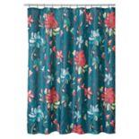 Interdesign Horton Floral Shower Curtain