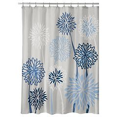 Interdesign Zinnia Floral Shower Curtain