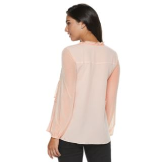 Women's Juicy Couture Layered Flounce Blouse