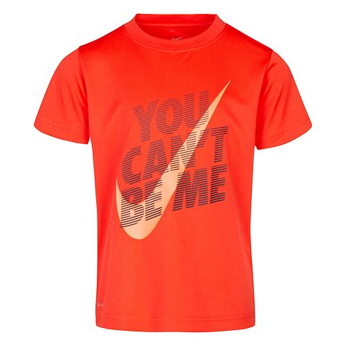 """Boys 4-7 Nike Swoosh """"You Can't Be Me"""" Graphic Tee"""