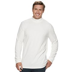 Big & Tall Croft & Barrow® Classic-Fit Easy-Care Mockneck Pullover