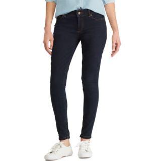 Women's Chaps Mid-Rise Straight-Leg Jeans
