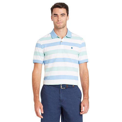 Men's IZOD Advantage SportFlex Slim-Fit Striped Performance Polo