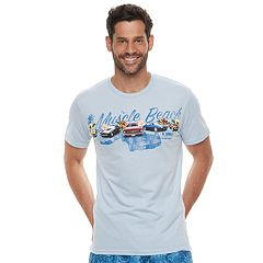 Men's Cotton Links Car Graphic Tee