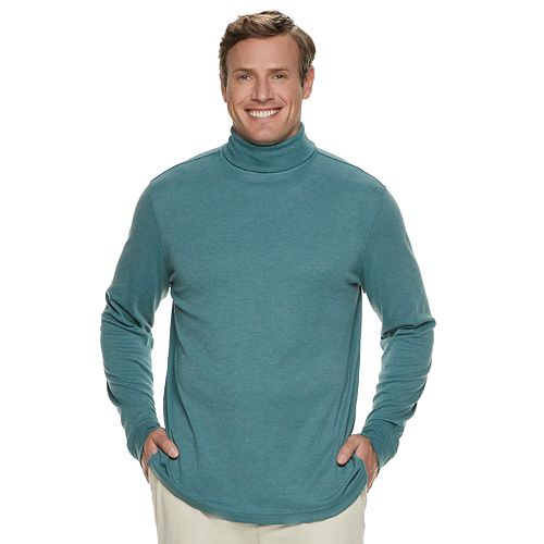 Big & Tall Croft & Barrow® Classic-Fit Easy-Care Turtleneck