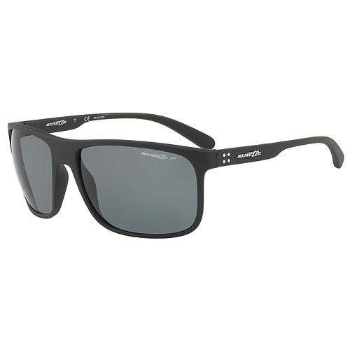 Arnette Bushing AN4244 62mm Rectangle Polarized Sunglasses