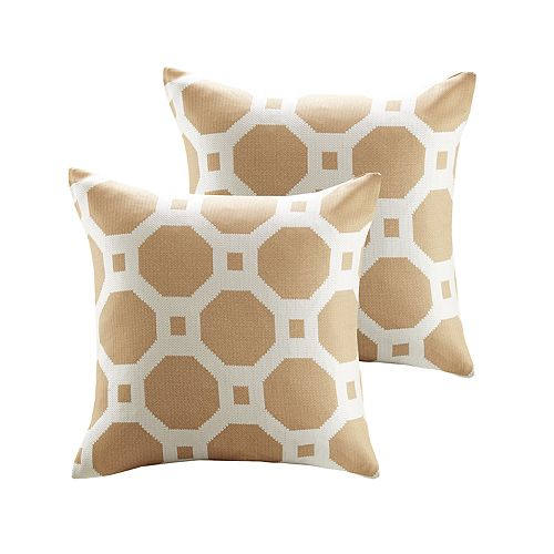 Madison Park Oriana Jacquard 2-piece Throw Pillow Set
