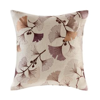 Madison Park Gingko Bloom Throw Pillow