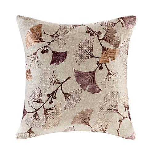 Madison Park Gingko Bloom Throw Pillow