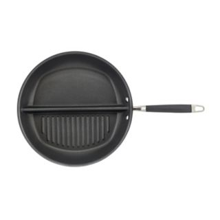 Anolon Advanced Hard-Anodized Nonstick Divided Grill & Griddle Skillet