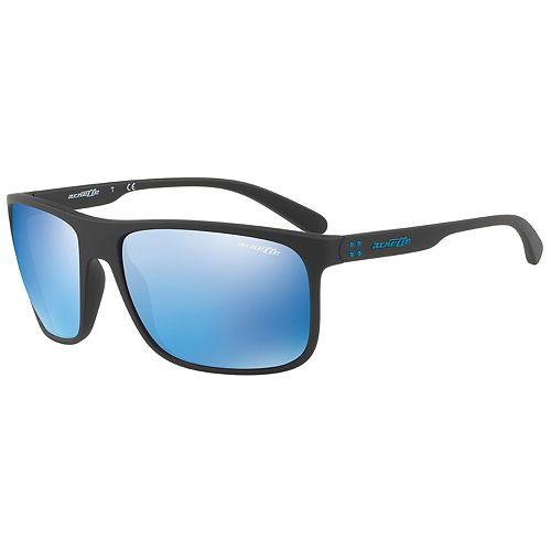 72d46cf617c26 Arnette Bushing AN4244 62mm Rectangle Mirrored Sunglasses