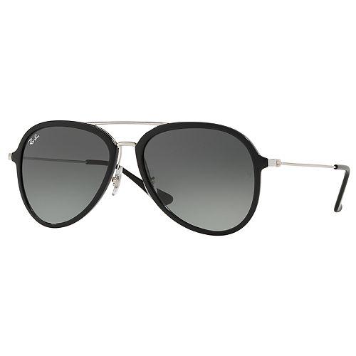 Ray-Ban RB4298 57mm Aviator Gradient Sunglasses